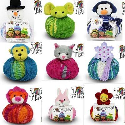 【法國DMC - TOP THIS 娃娃線動物帽】聖誕禮物-現貨/代購《小紅帽愛編織》