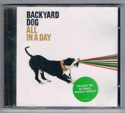 [鑫隆音樂]西洋CD-後院狗狗樂團 Backyard Dog:一天之中 (全新)免競標