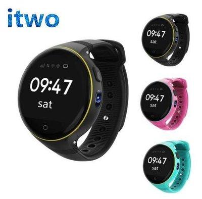 itwo 陀螺儀 touch 兒童定位手錶GOOGLE 計步 通話 手錶 GPS手錶 9重定位wifi  ips電容屏