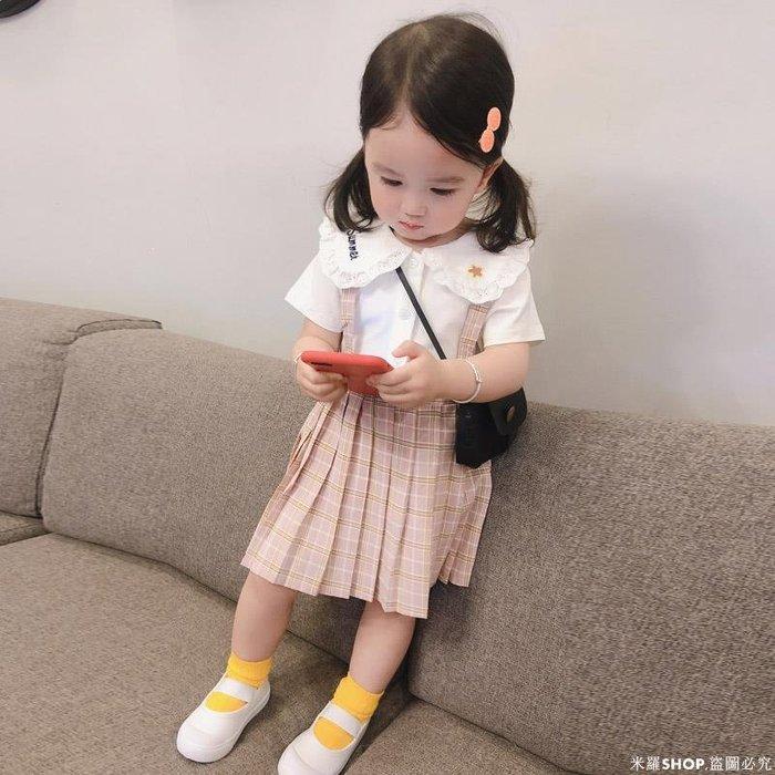 米羅SHOP 純棉兒童寶寶裙子夏款洋氣短裙女童連衣裙夏2歲女寶寶夏裝3小童嬰兒裙ML686