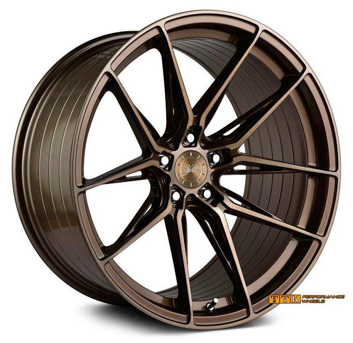 【美麗輪胎舘】VERTINI RF-1.8 正品 20吋 旋壓輕量化 5孔車系適用 前後配 古銅刷面 (配胎套餐大折扣)