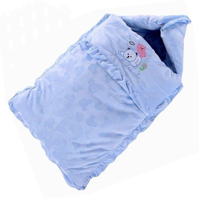 ZIHOPE 睡袋 款寶寶睡袋嬰兒包被嬰兒加厚睡袋新生兒防踢被純棉ZI812