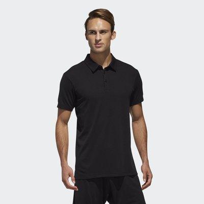 【豬豬老闆】ADIDAS CLIMACHILL 透氣 休閒 POLO衫 短T 男款 黑 DU8411 白 DU8412