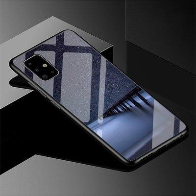 Samsung A71/A51 手機殼 保護套 防摔手機保護套 鏡面 彩繪 玻璃殼 歸雁 殼 三星保護殼 Galaxy