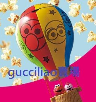 日本環球影城 芝麻街 Elmo & Moppy 熱氣球爆米花桶 ((絕版)) ~現貨