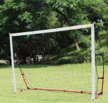 【戶外可折疊便攜足球門套裝-小-200*140*55cm-1個】可擕式足球門 沙灘足球門 兒童足球門-56007