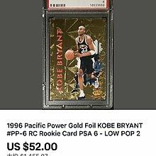 🐍1996 Pacific Power #6 Kobe Bryant