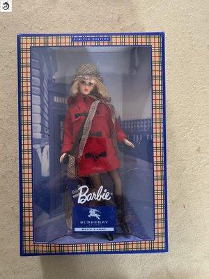 九州動漫芭比Burberry品牌與美泰玩具合作發行的老款 burberry barbie現貨