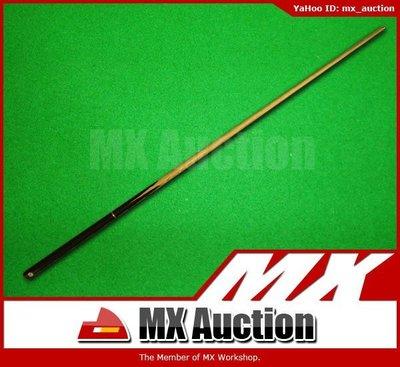 "MX Auction - [SC-003] SM Snooker Cue 57"" 3/4 桌球桿 桌球杆 桌球棍 Cue棍 檯球 英式 美式 入門 (黑色)"