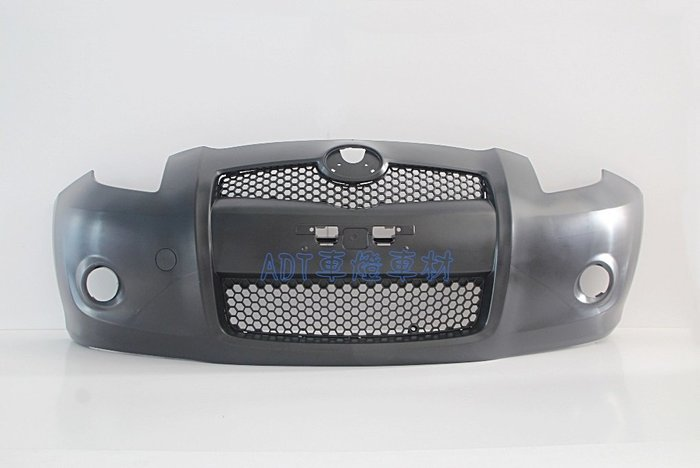 ~~ADT.車燈.車材~~豐田 YARIS 05 06 07 08 09 改款前專用 日規RS版 前保桿+水罩+通風網