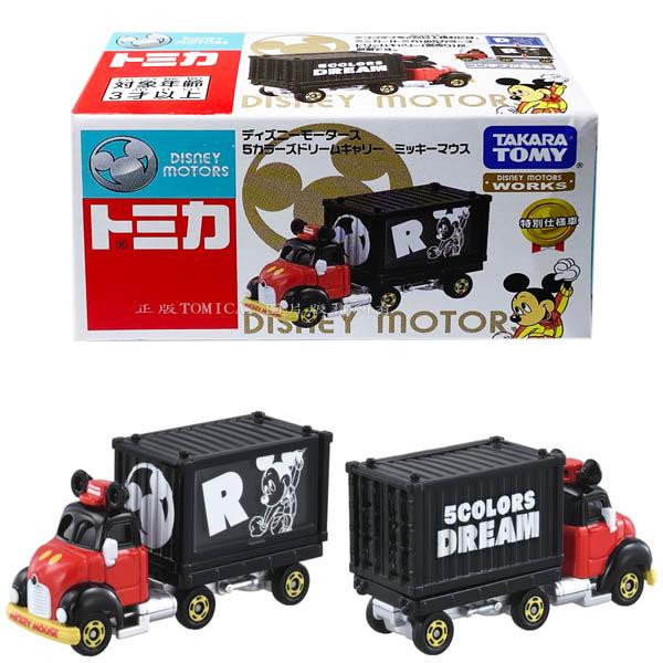 【附發票 3C小苑】DS15646 麗嬰 正版 迪士尼 DM 經典 DREAM 貨櫃小車-米奇 經典夢想車 米奇 貨櫃車