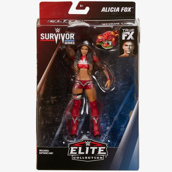 ☆阿Su倉庫☆WWE Alicia Fox Survivor Series Elite Figure 強者生存精華版人偶