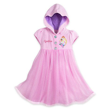 Disney Princess COVER UP 防曬 洋裝 泳衣罩衫 9/10T