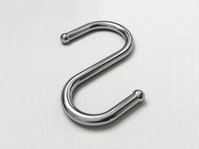 『永同五金』JAS S掛鉤 一個入 不鏽鋼吊掛系列 廚房 衛浴 不鏽鋼 配件 配合5分白鐵管