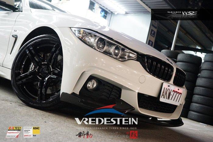 RAYS VARIANCE V.V.5.2S 鑄造鋁圈 BMW F32 實著 F31.F36 搭配威斯登輪胎 / 制動改