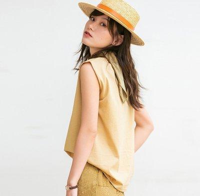 YOHO 寬鬆棉T (SDP2185) 實拍百搭純棉寬鬆上衣 無袖上衣 有6色