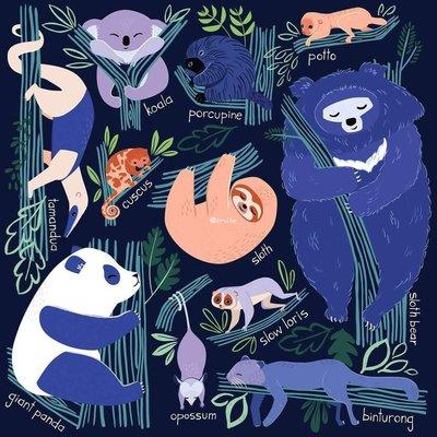 拼圖世家美國正品進口 mudpuppy拼圖 抱樹動物家庭 500片 成人兒童禮物