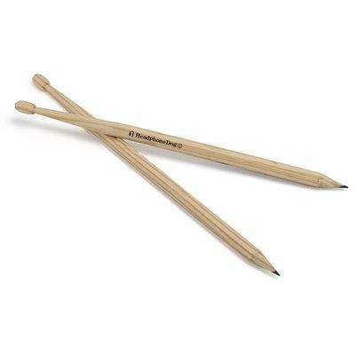 鼓手必備 鼓棒造型鉛筆 (一組2入) ...