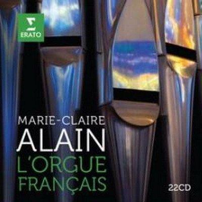 管風琴女王瑪麗─克萊兒‧阿蘭的法國管風琴名曲輯 22CD---2564631064