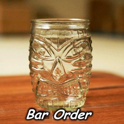 Bar Order~美國 精緻TIKI造型無鉛玻璃HighBall杯/長飲雞尾酒杯 500ml 超低價 現貨+預購