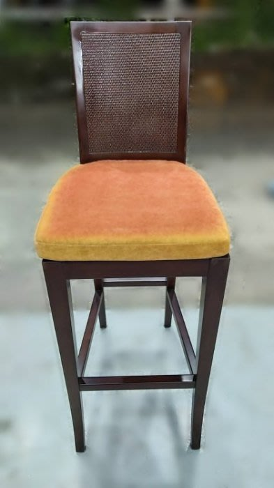 樂居二手家具(北) 便宜2手傢俱拍賣F92609*胡桃高腳椅* 中古各式桌椅 餐桌椅 吧檯椅 中古家具