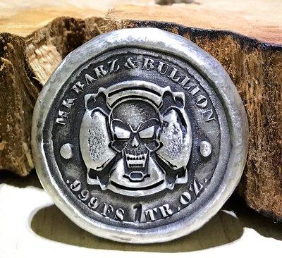 «自由銀»Hand-Poured Silver - Pirates Loot 海盜戰利品 (1 toz)