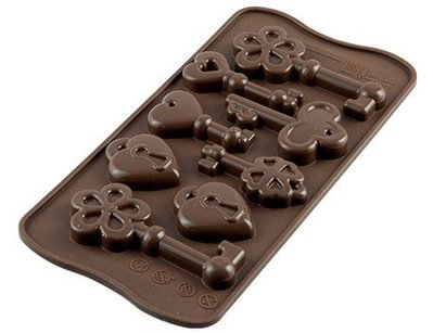 ☆║IRIS Zakka║☆ 義大利 silikomart easy choco 鑰匙 巧克力型模具 新北市