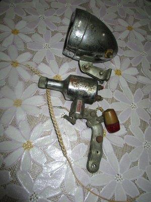 古董鐵馬...磨電燈.....少見型