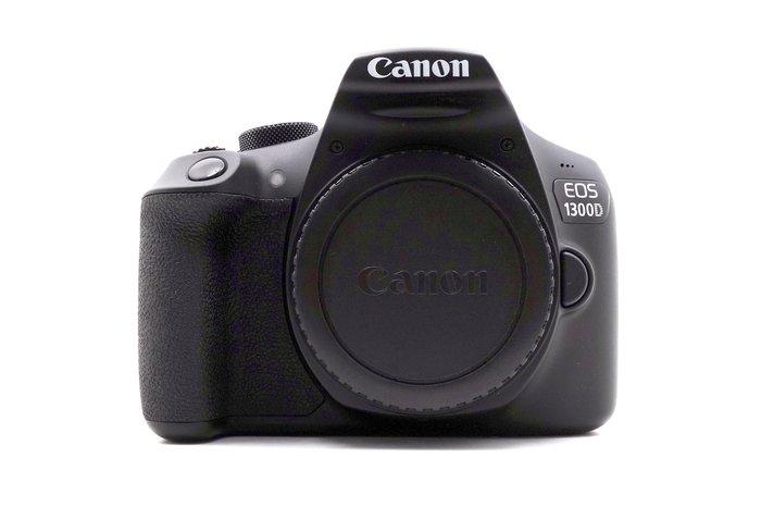 【台中青蘋果】Canon EOS 1300D 單機身 二手 單眼相機 快門次數約5111 海外購入 #22915