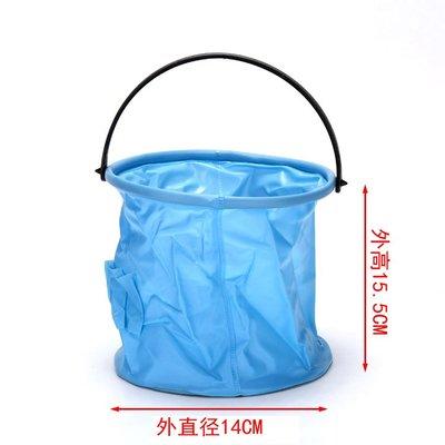 阿里家 小號硬底水桶 多功能洗筆桶可折疊水桶 壓縮水桶 畫材多顏色可選 嘉義市