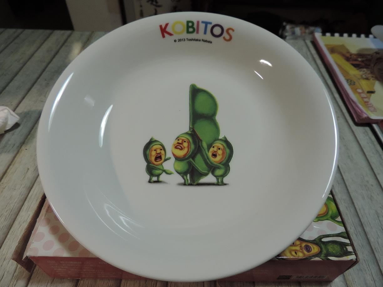 全聯福利中心 KOBITOS 醜比頭植物農場精靈  桃子君屁桃 餐盤 全瓷盤子 全新