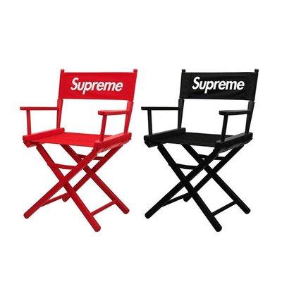 【現貨】Supreme Director's Chair 19SS 導演椅 戶外 椅子 黑 1張