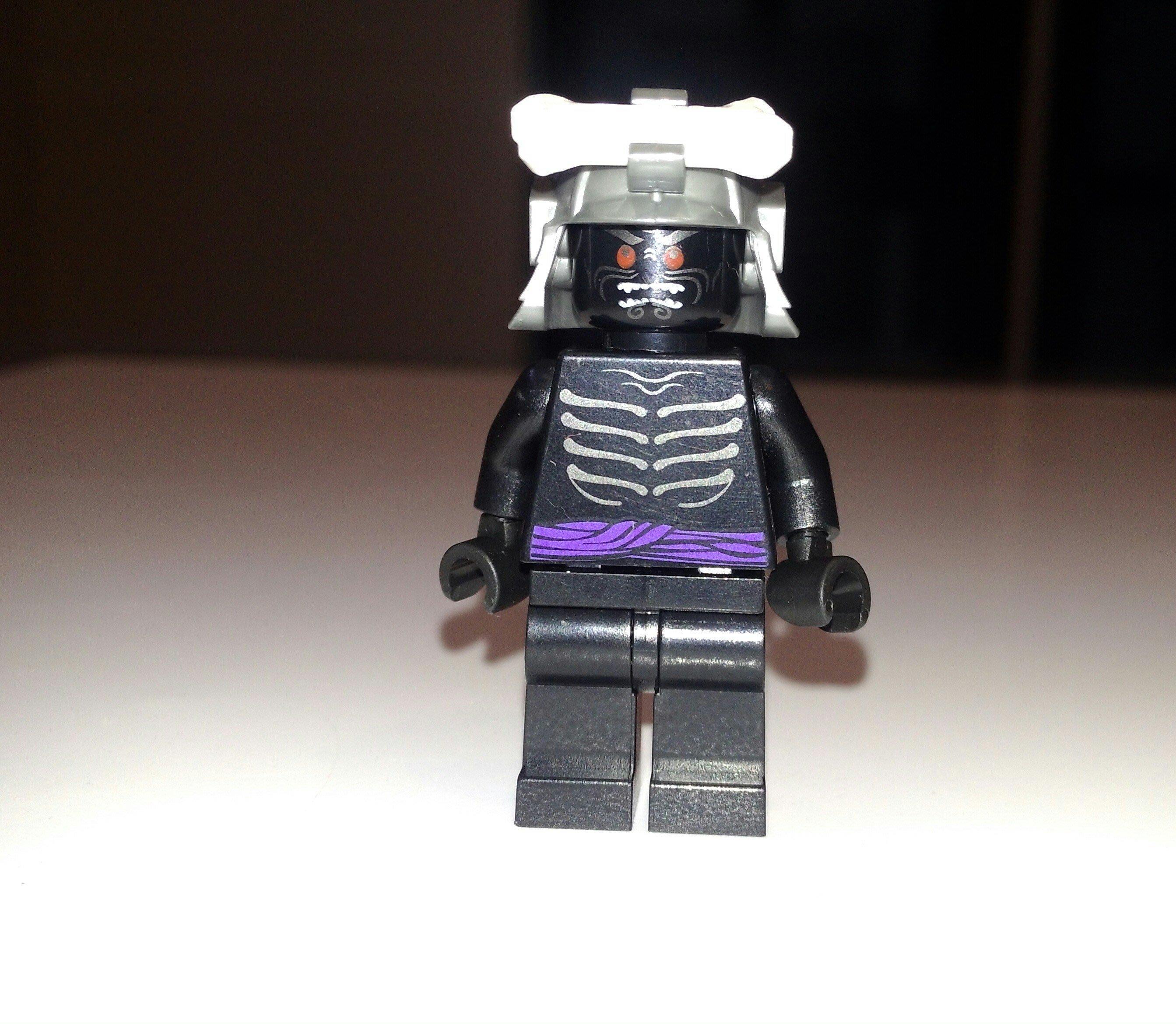 全新, 樂高 Ninjago忍者旋風系列Lego 2505,2507 黑色Garmadon 伽瑪當