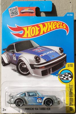 Hot Wheels Porsche 934 Turbo RSR Falken 風火輪保時捷飛勁 HotWheels