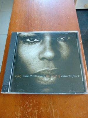 靈魂天后 ROBERTA FLACK 蘿貝塔弗萊克 THE BEST OF 早期版CD 保存良好