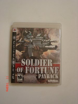 PS3 傭兵戰場 英文版 soldier of fortune payback