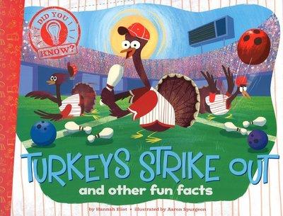 *小貝比的家*DID YOU KNOW:TURKEYS STRIKE OUT AND OTHER FUN FACTS