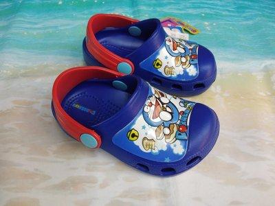 正品 MIT小叮噹兒童輕量防水布希鞋 花園鞋 園丁鞋 懶人鞋 雨鞋