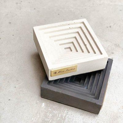 【曙muse】幾何梯形式煙灰缸 個性 原創  loft 工業風 咖啡廳 民宿 餐廳 住家