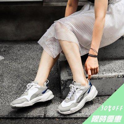 【韓國限定】全新正品 Puma Thunder Spectra  老爹鞋 復古 白銀 藍銀 未來科技感 泫雅 女生原尺寸