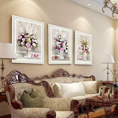 粉紅玫瑰精品屋~歐式5D玫瑰花卉鑽石畫...