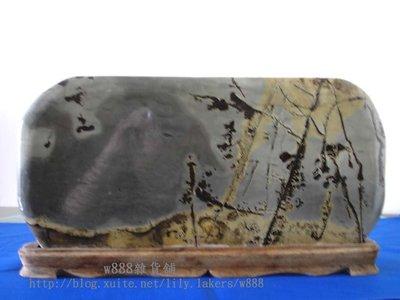 【w888雜貨舖】石雕擺飾系列出清【復古風景石】