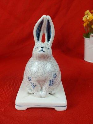 (頭等艙精品) 日本精燒薰香兔子
