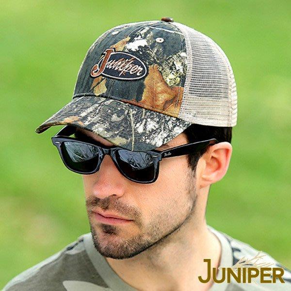 JUNIPER 中性透氣抗UV卡車帽 JL7542迷彩 遮陽帽 棒球帽 防曬帽 卡車司機帽 抗UV 喜樂屋戶外休閒