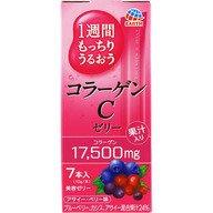 預購日本健康食品(美肌)アース製薬 1週間もっちりうるおうコラーゲンCゼリー 7本