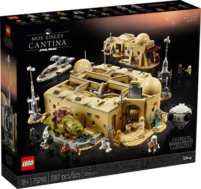 現貨 樂高 LEGO 星際大戰 STAR WARS 75290 摩斯艾斯利酒吧 3187pcs 台樂公司貨 全新