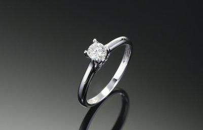 30-50分鑽石求婚戒戒檯 鑽石檯空檯