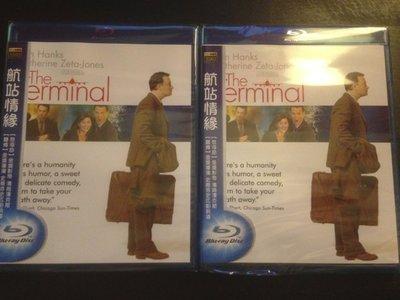 (全新未拆封)航站情緣 The Terminal 藍光BD(得利公司貨)限量特價