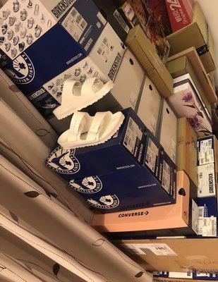 白色46水橡膠 BIRKENSTOCK ARIZONA EVA  女生 勃肯拖鞋 0129443白色 0129423 新北市