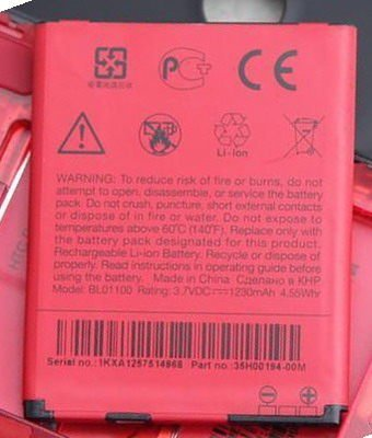 @天空通訊@HTC 原廠電池 Desire C A320e 1230mAh BL01100 保固半年 門市直營 歡迎自取